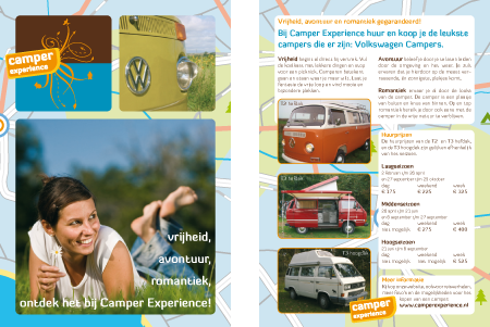 Camper Experience flyer