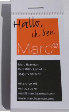 Marc Haarman huisstijl