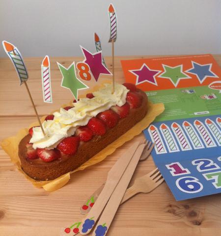 Verjaardagskaart voor Rabobank | © Romijn Design