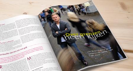 Romijn Design ontwerpt voor Oranje Fonds Magazine Twee | © Romijn Design