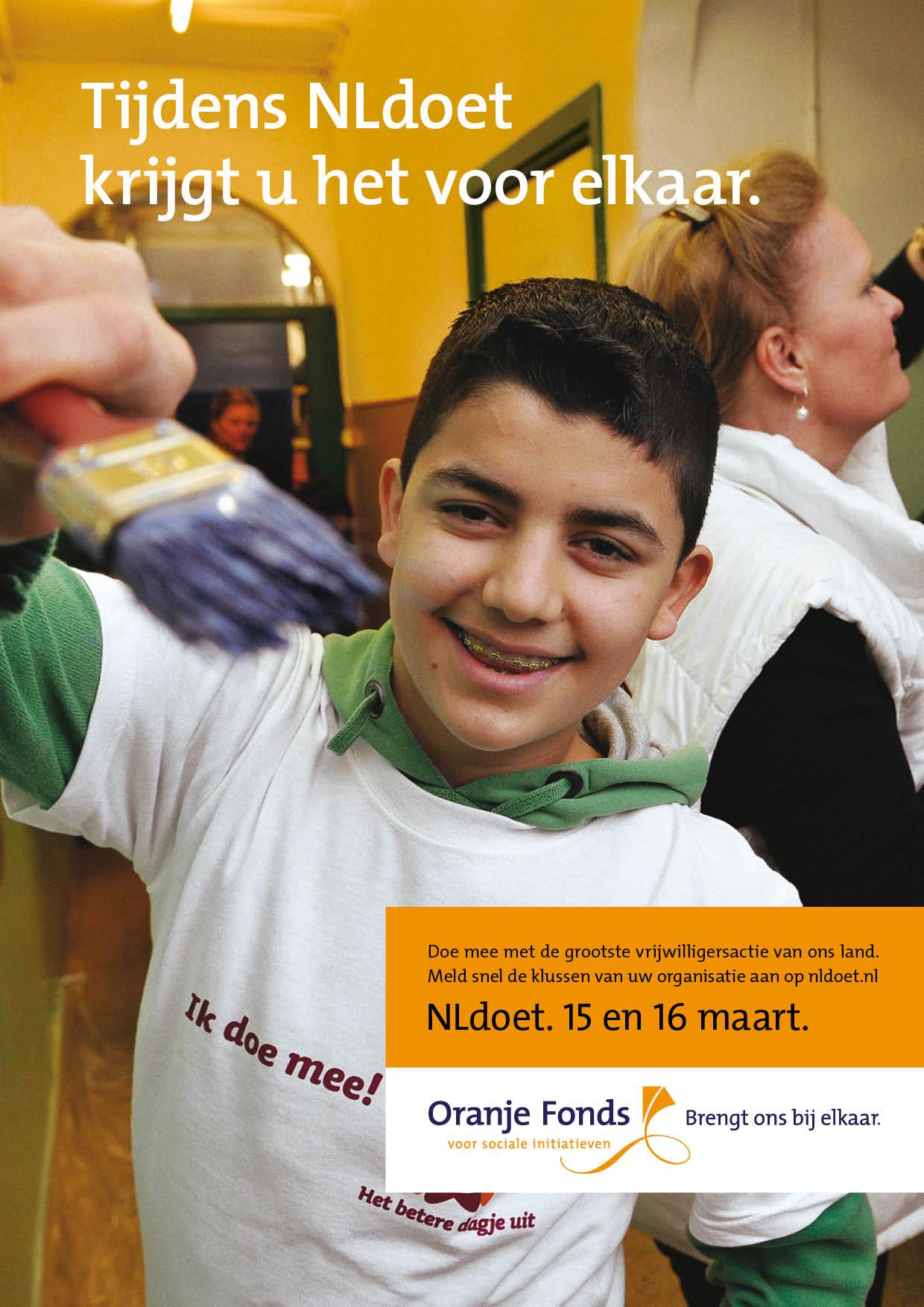 NL DOET advertentie | © Romijn Design