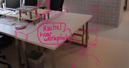 Werkplek Rachel