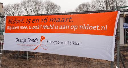 Romijn Design NLdoet Spandoek